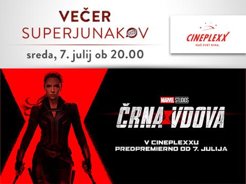 VEČER SUPERJUNAKOV ČRNA VDOVA v Cineplexxu image